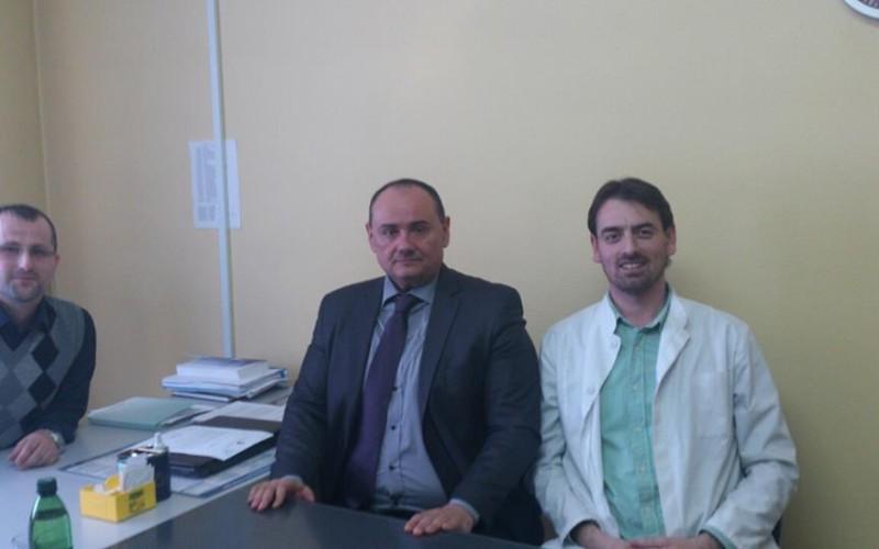 Direktor AKAZ-a u posjeti domu zdravlja Doboj Istok
